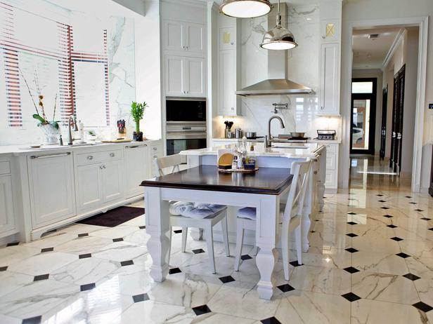 What\'s the Best Type of Marble for Your Kitchen Floor ...