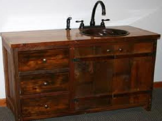 things to consider while buying rustic bathroom vanity cabinets